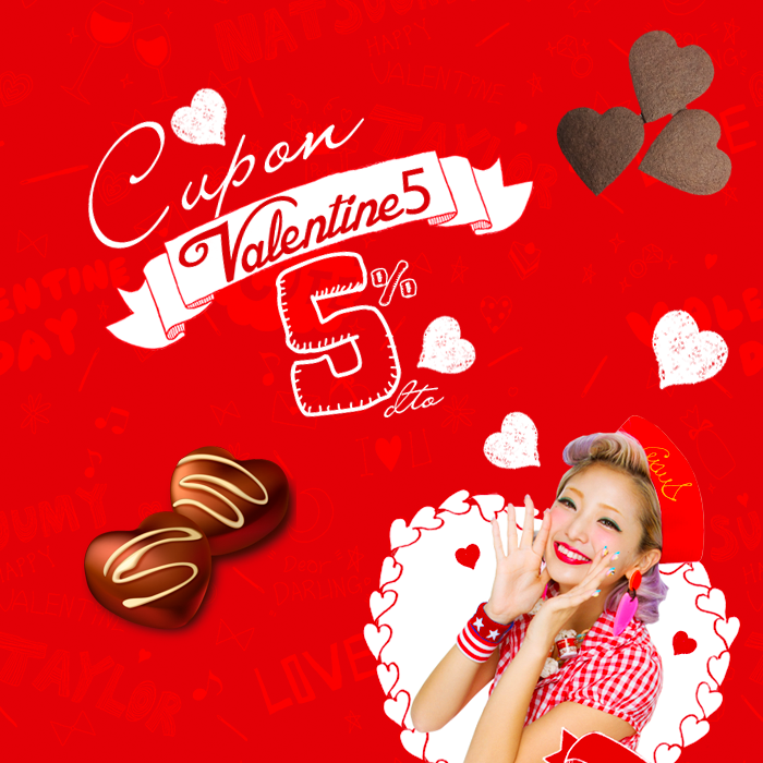 AMPLIAMOS - ÚLTIMO DÍA CUPÓN DESCUENTO San Valentin que hace tilín!