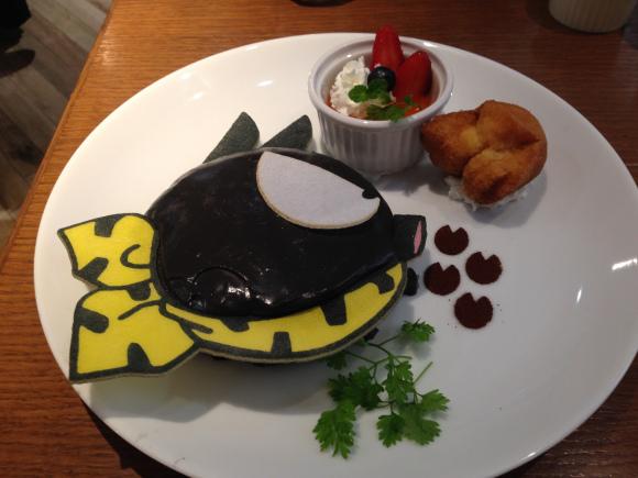 Cenando en el Tokyo Ranma 1/2 cafe