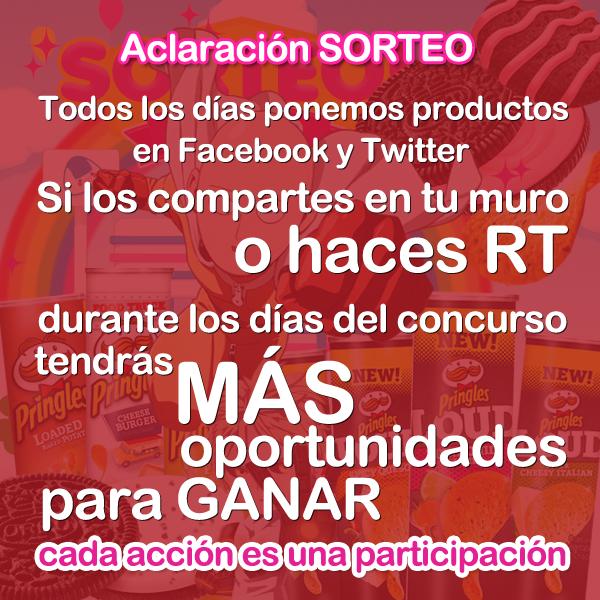 Concursos  One Punch SORTEO con pringles y Oreo!!