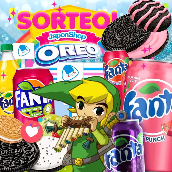 Desde Hyrule con amor: Nuevo SORTEO Fanta y Oreo!