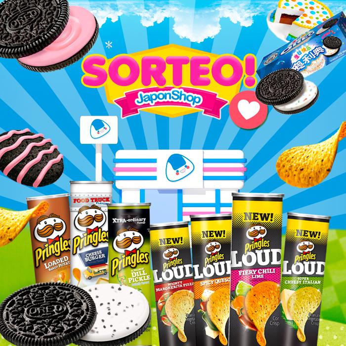 ¡Pringles y Oreo allá vamos con nuevo SORTEO!