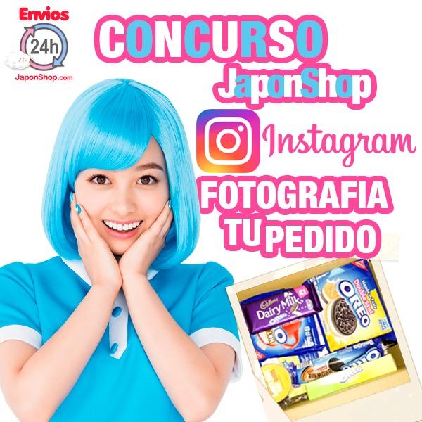 Instagram SORTEO! Enséñanos tu pedido!