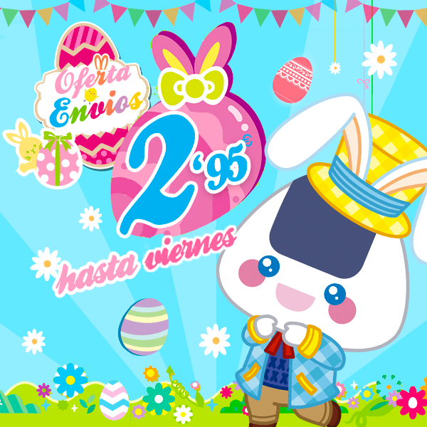 Días de Pascua en Japonshop con envío SUPER OFERTA!