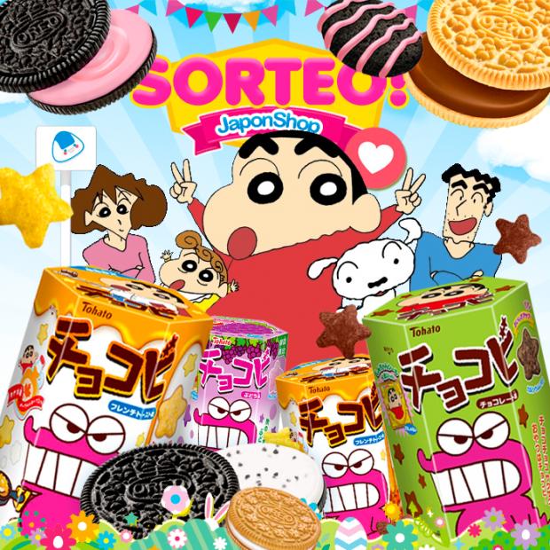 Concursos  Pascua a tope! Celebramos con sorteo Shinchan y Oreo!