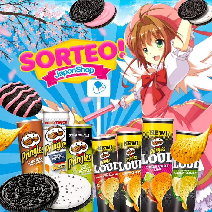 Hanami Sorteo! Sakura, Pringles y Oreo!