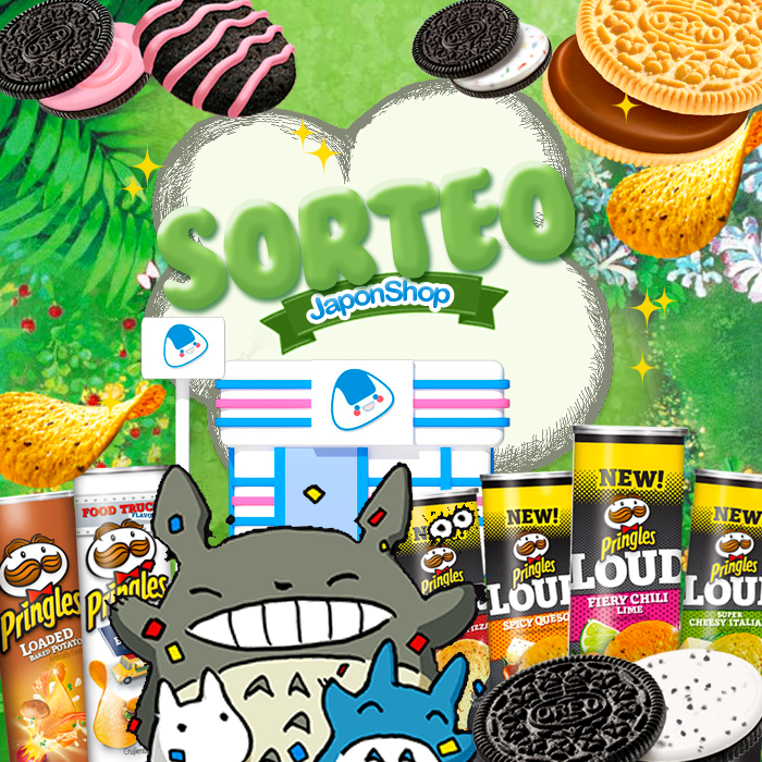 Super Sorteo viene Totoro con Pringles y Oreo!