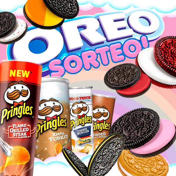 ¡Pringles y Oreo arrancamos nuevo SORTEO!