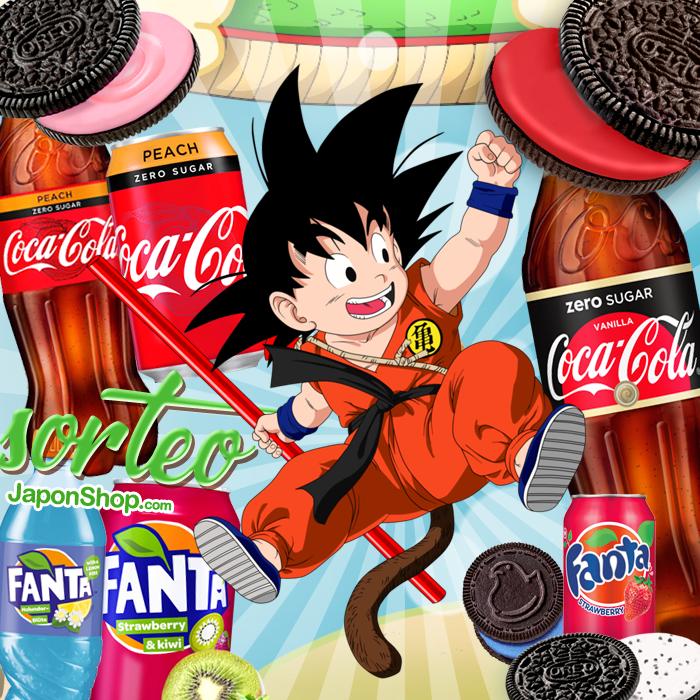 Sorteo con Goku FANTA, CocaCola y OREO