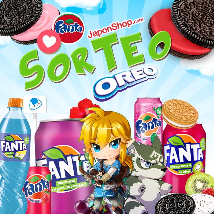 Nuevo Sorteo con Link FANTA y OREO