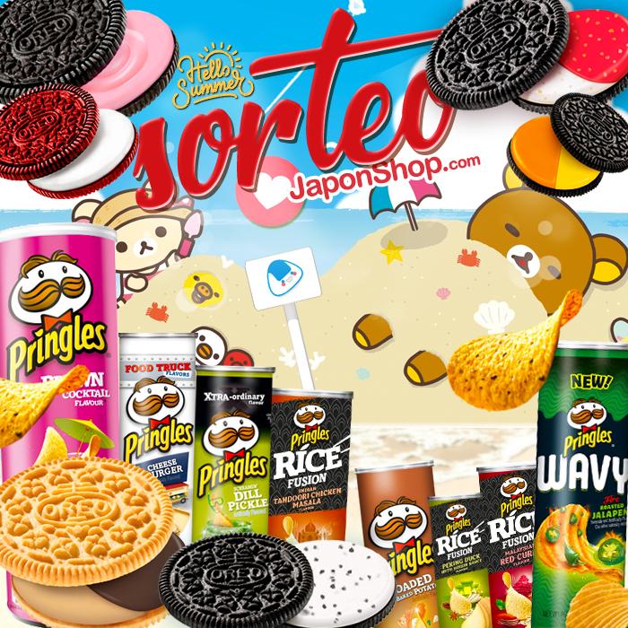 Pringles y Oreo, en verano Japonshop y SORTEO