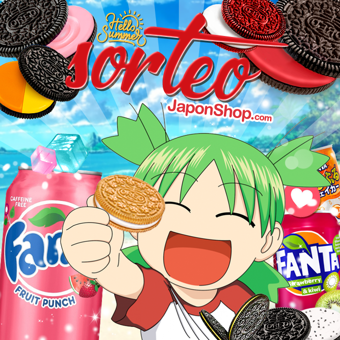 Yotsuba llega con alegría! Nuevo SORTEO en Japonshop