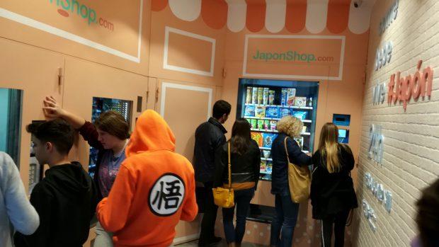 actualidad Combini Lovers japonshop  Nueva tienda automática vending de Japonshop