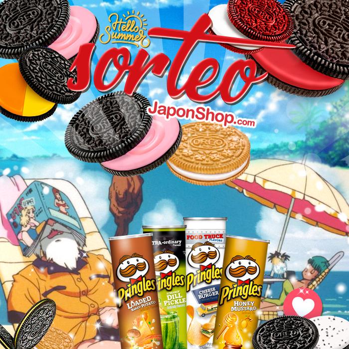 Agosto con Sorteo esta vez Pringles y Oreo