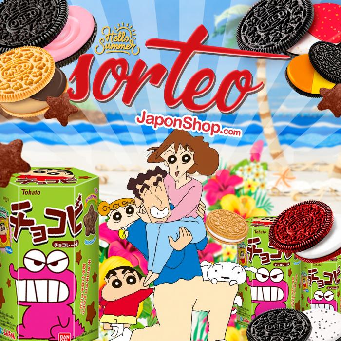Agosto en Japonshop con SORTEO Chocobi y Oreo!