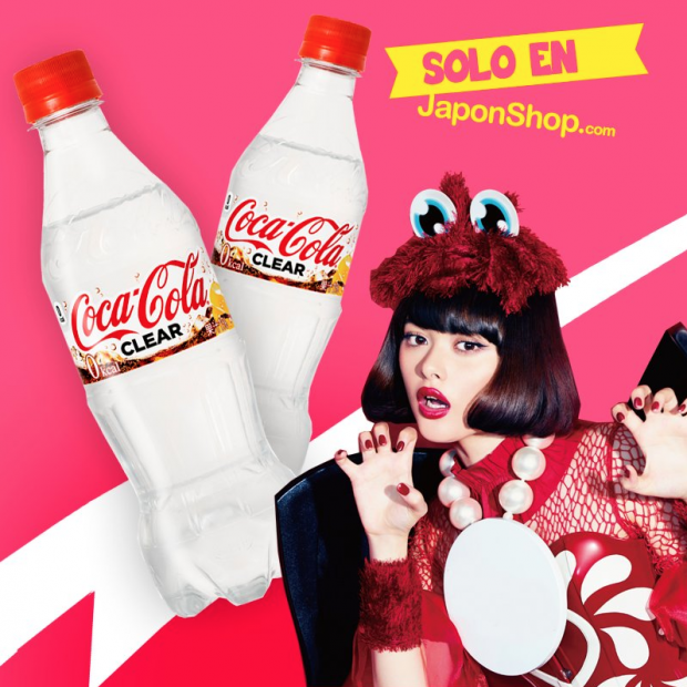 japonshop  Nueva Coca Cola Japan Clear
