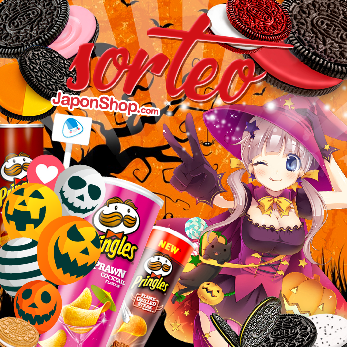 Halloween is comming! Oreo y Pringles con SORTEO!