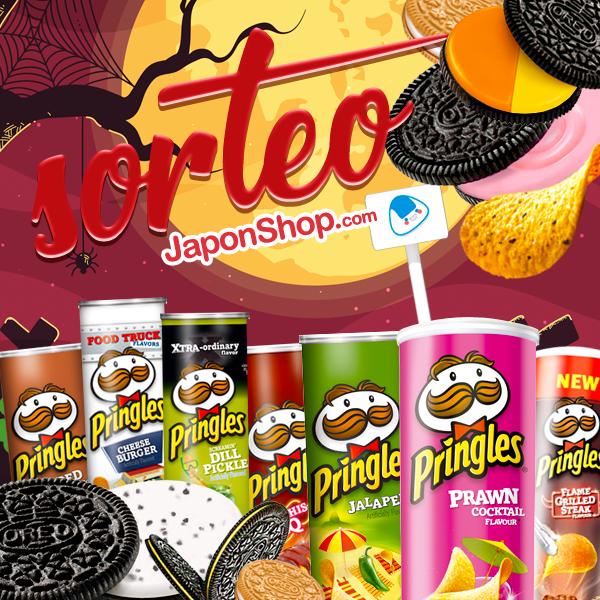 Camino a HALLOWEEN SORTEO Oreo y Pringles en Japonshop!!