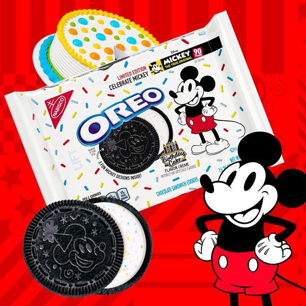 Edición LIMITADA OREO Mickey Mouse!
