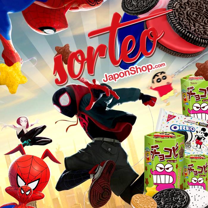 Tu vecino y amigo Spiderman con SORTEO Chocobi y Oreo!