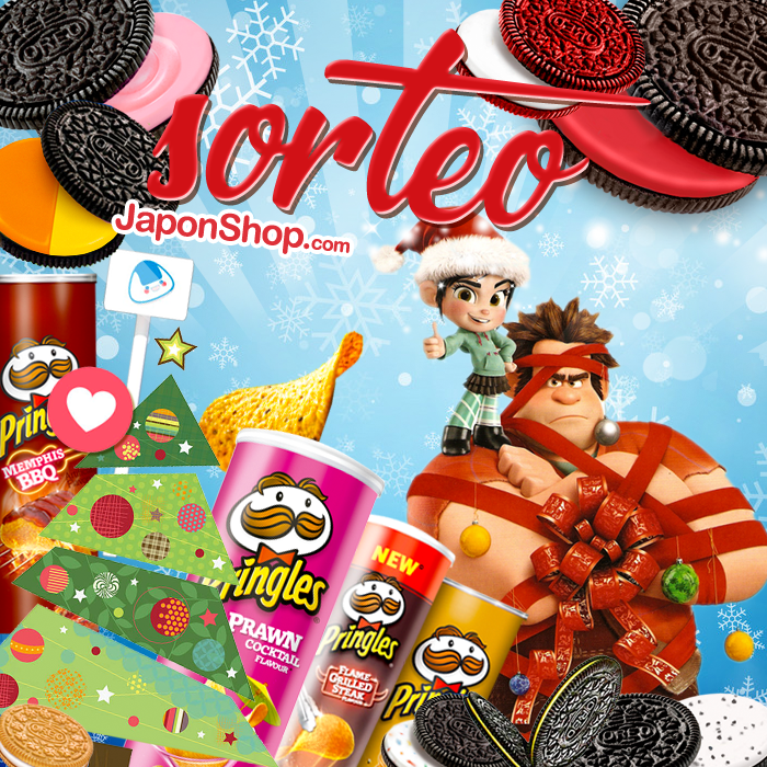 Rompemos internet con Ralph, SORTEO Pringles y OREO!