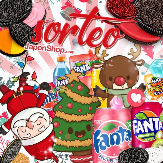 Concursos  Navidad en Japonshop con Papa Noel SORTEO Fanta y OREO!