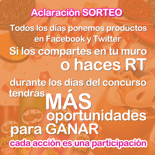 Concursos  Año nuevo SORTEO nuevo!! Pringles y Oreo!