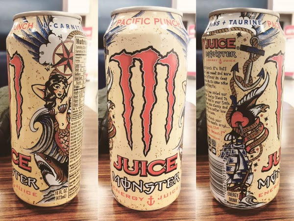 japonshop  Monster Pacific Punch: ¡La mejor Monster de la historia!