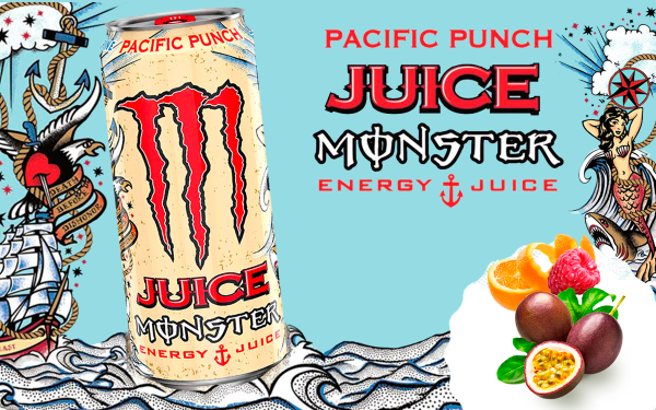Monster Pacific Punch: ¡La mejor Monster de la historia!