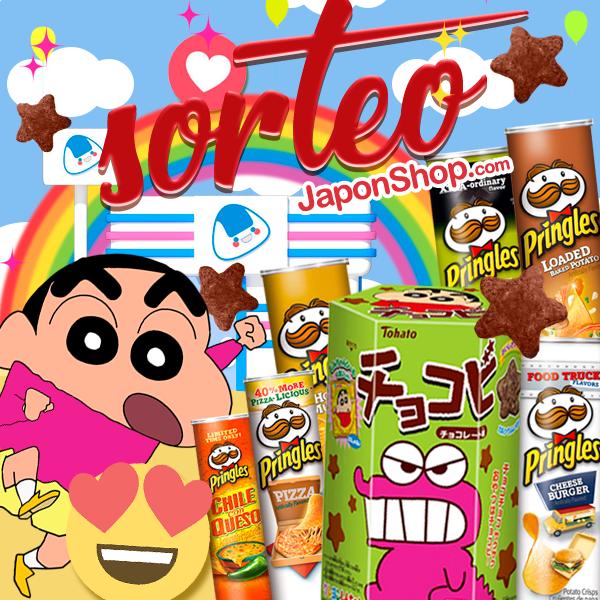Sorteo COMBO Pringles y Chocobi ShinChan!