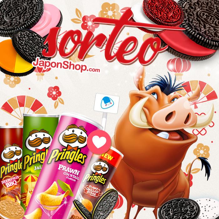 Año nuevo SORTEO nuevo!! Pringles y Oreo!