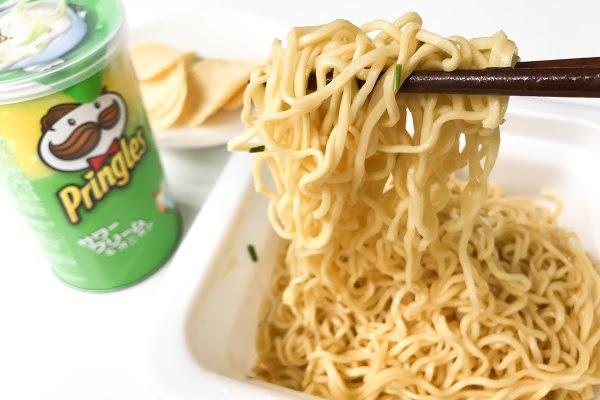 japonshop  Edición limitadísima: ¡Yakisoba de Pringles!