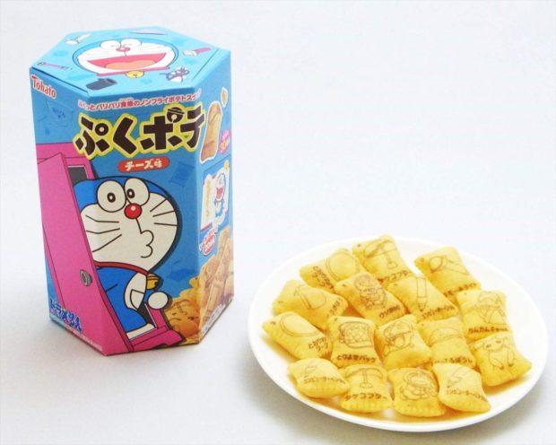 japonshop  Flipa con las famosas Galletas Snack de Queso de DORAEMON!