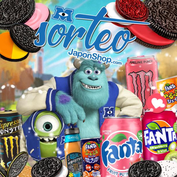 Concursos  Booo! SORTEO Monster, Fanta y Oreo!