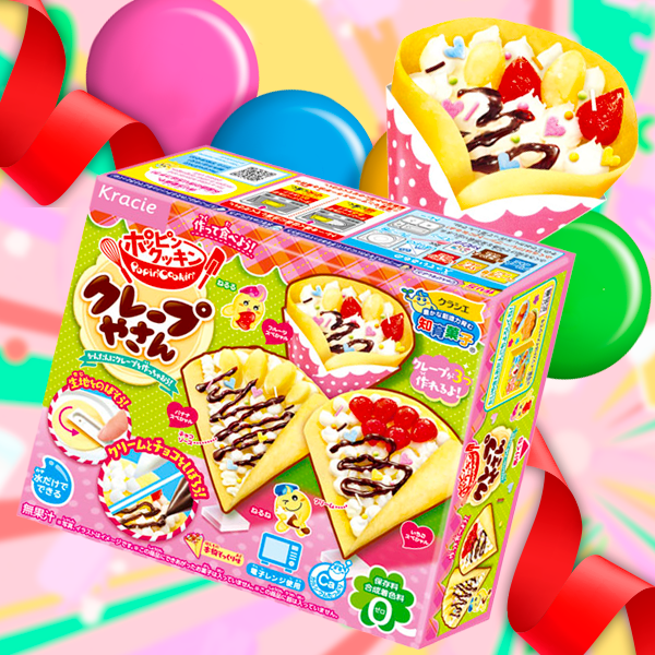 ¡A divertirse! Kit de Chuches Crepes | Popin' Cookin'