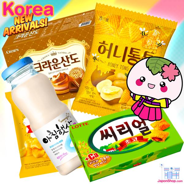 Productos coreanos recién llegado a JaponShop.com