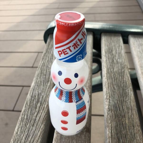 La Soda + cool: Ramune de Nieve Snowman | Receta de Invierno