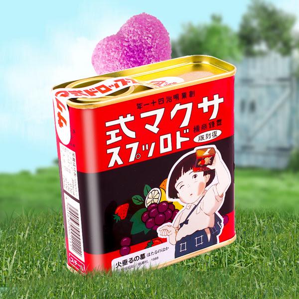 Caramelos Sakuma Drops La Tumba de las Luciérnagas