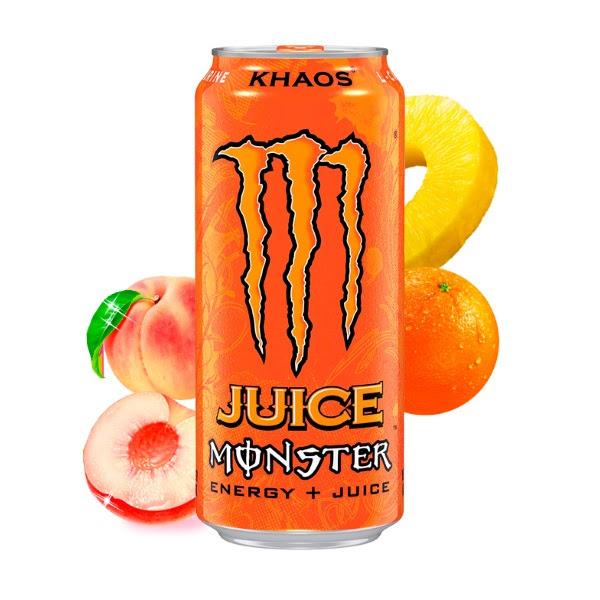¿Ya conoces la nueva Monster? Te presentamos KHAOS JUICE