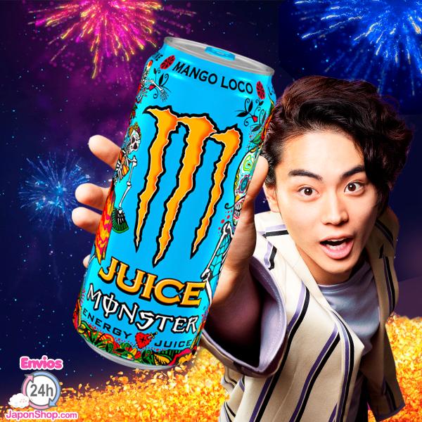 japonshop  ¿Ya conoces la nueva Monster? Te presentamos KHAOS JUICE