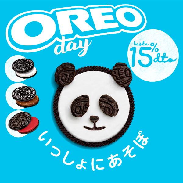 Oreo DAY! descuento selección de productos