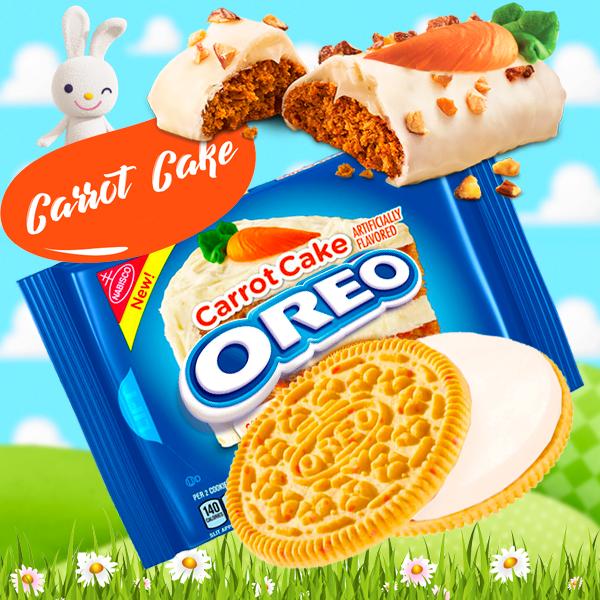 Nueva y deliciosa Oreo Carrot Cake (Tarta de Zanahoria)