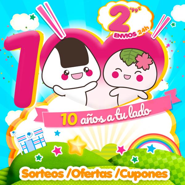 ¡¡Celebramos nuestro 10º Aniversario!!