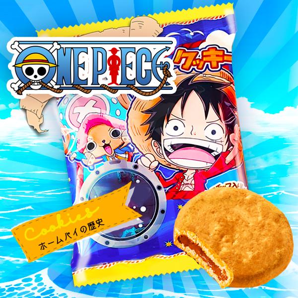 Nuevas galletas de One Piece en Japonshop!