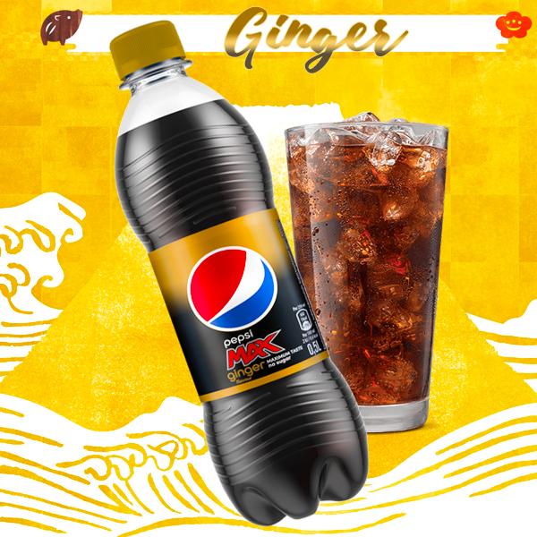 Pepsi MAX Sin Azúcar y con Jengibre