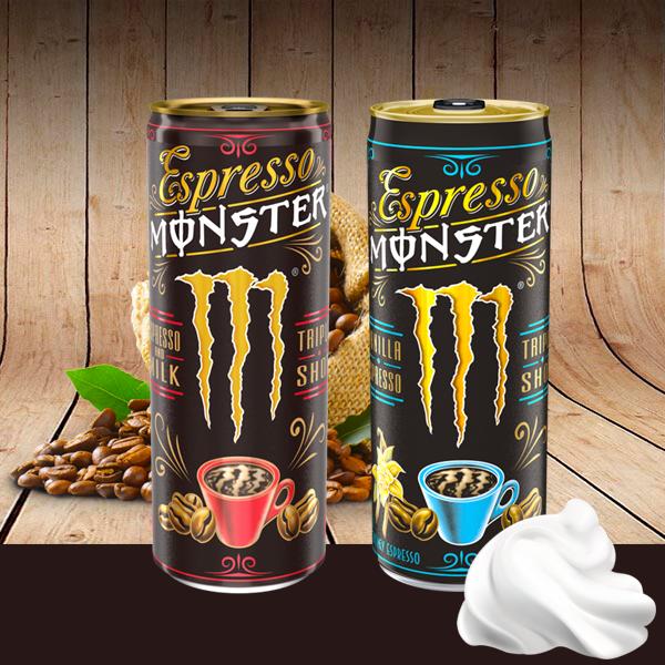 Espresso Monster con triple carga