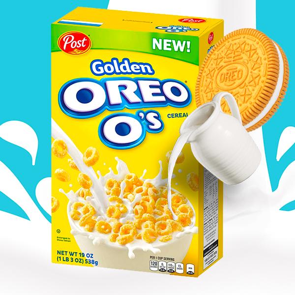 A ricodesayunar! Cereales Oreo Golden