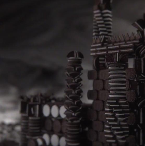 Oreo recrea la intro de 'Juego de tronos' con galletas