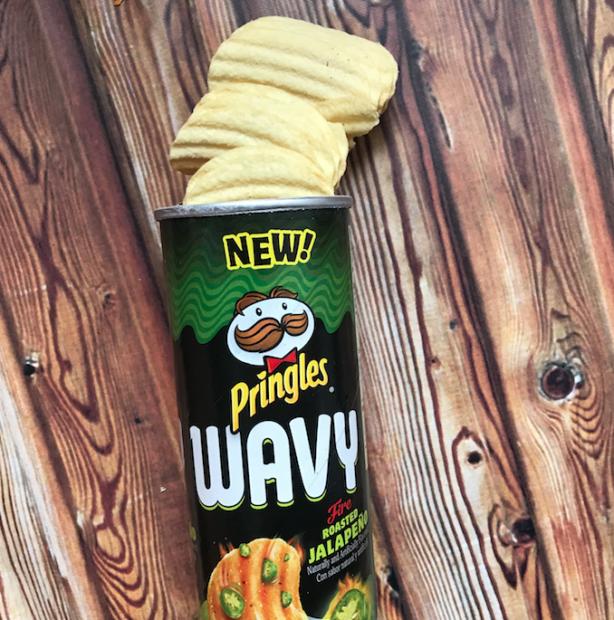 japonshop  Pringles Onduladas Wavy Sabor Jalapeño Asado
