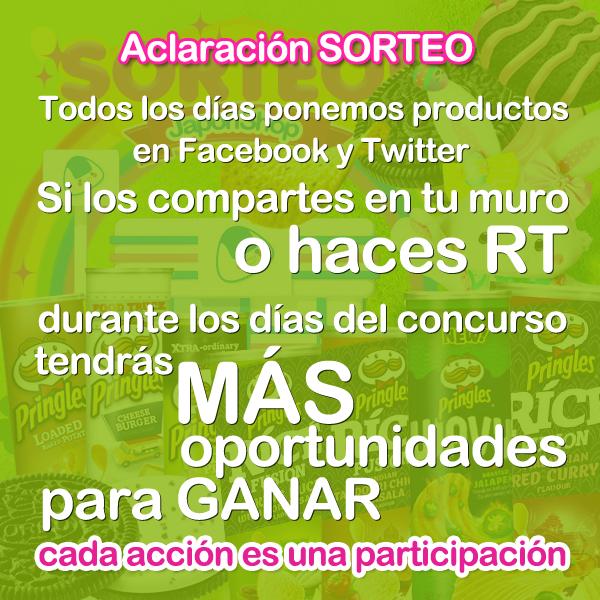 Concursos  Sorteo de PASCUA Pringles y Oreo