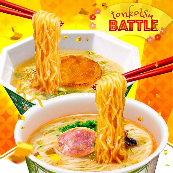 BATTLE OFERTA - Ramen Tonkotsu Emperador VS Tonkatsu Artesano